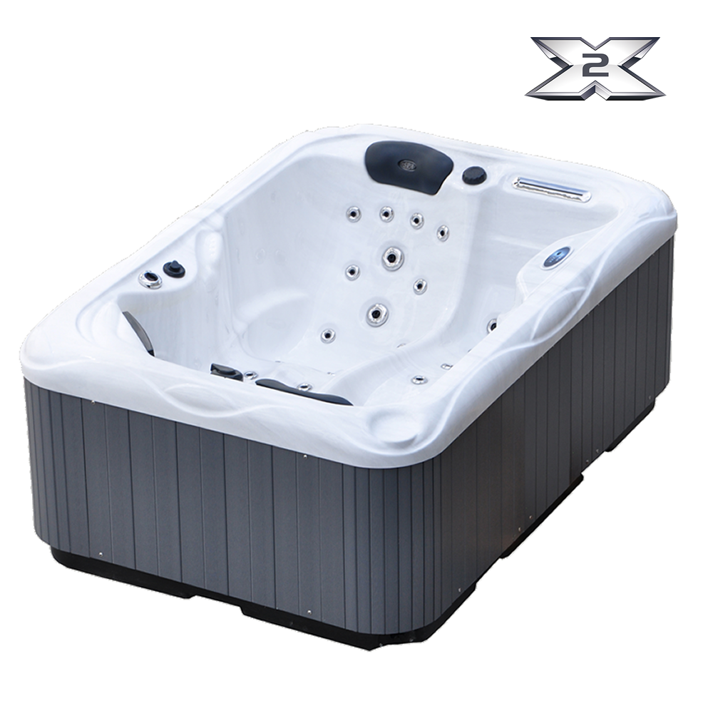 x2 sonic spa der ideale dach terassen pool outdoor whirlpools. Black Bedroom Furniture Sets. Home Design Ideas